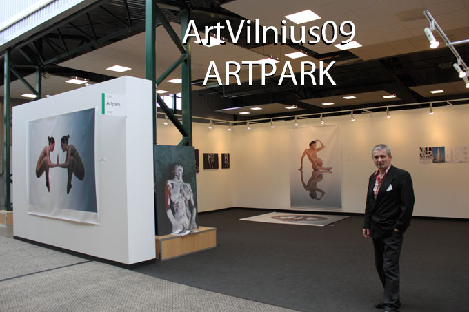 Galerie ARTPARK / Franz West, Herbert Brandl, Manfred Kielnhofer, Martina Schettina